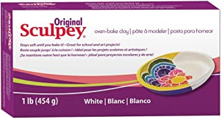 product image for Original Sculpey Sculpting Compound White Oven-Bake Clay - Great for School and Art Projects - 1 Lb, Pack of 3