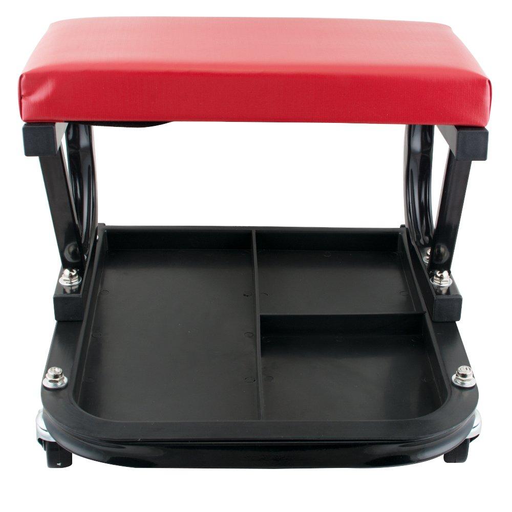 Enshey Car Repair Roller Seat Padded Mechanics Roller Creeper Auto Workshop Bench Garage Equipment Vehicle Tools Maintenance by Enshey (Image #4)