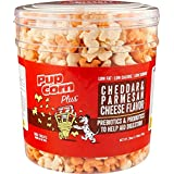 28oz Pupcorn Plus Parmesan & Cheddar Cheese Flavor with Prebiotics & Probiotics