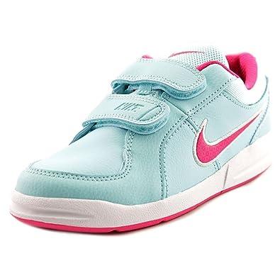 new products 482fc 7862d Nike Mädchen Pico 4 (PSV) Tennisschuhe, blau/Rosa/weiß (Copa/Vivid ...