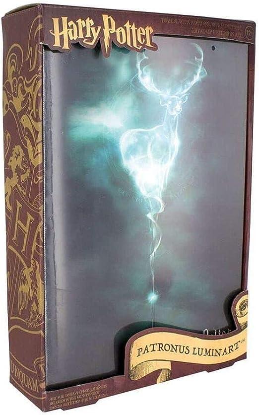 Harry Potter Patronus Luminart - Lienzo decorativo para pared