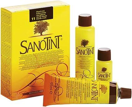 SANOTINT Tinte clásico color 11 rubio miel – 3 paquetes – 3 x ...