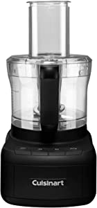Cuisinart FP-8MB Elemental 8-Cup Food Processor, Matte Black