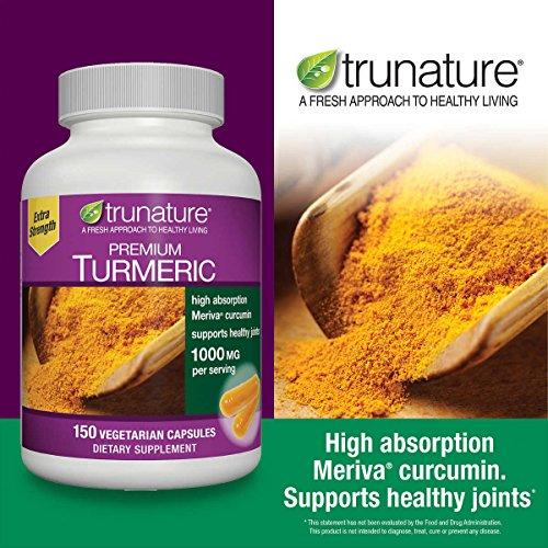 trunature Premium Turmeric 1000 mg., 150 Vegetarian Capsules