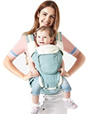Mondeer Baby Carrier Hip Seat,Ergonomic Design for Infants,Cozy Seat and All-Direction Safety Protection