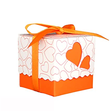 Amazon Gift Boxes Small XSHION 40 Pieces Valentines Day Treat Cool Small Decorative Gift Boxes