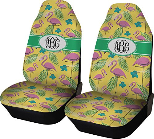 pink and yellow car seat covers - 9