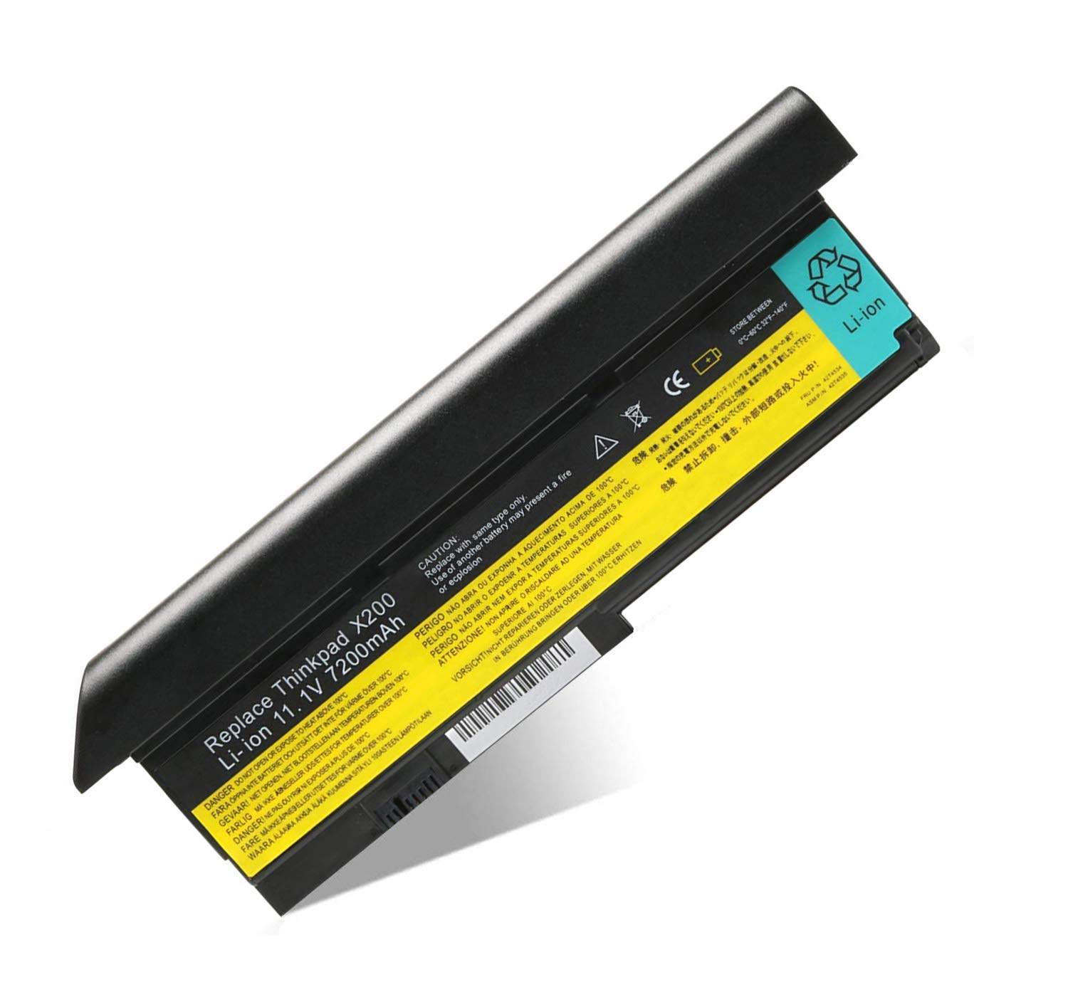 Amazon.com: New X200 Replacement Laptop Battery for Lenovo ...