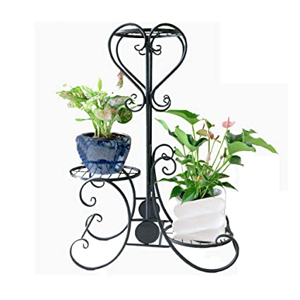 Amazon.com : Metal Plant Pot Stand Outdoor Elegant Raised ... on raised flower beds, raised succulent garden, raised water garden, raised stone garden, raised tree garden, raised butterfly garden, raised shade garden, raised garden plants, raised berry garden, raised cactus garden, raised garden bed, raised container garden, raised rose garden, raised fire pit, raised rock garden, raised iris garden, raised herb garden, raised cottage garden, raised garden design, raised vegetable garden,