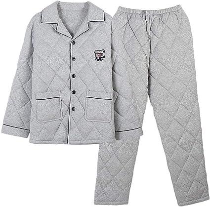 Zara Lew - Pijama de invierno para hombre, algodón, pijama ...