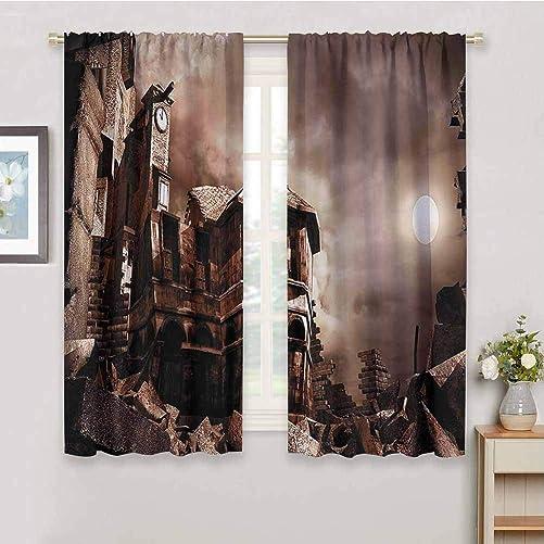 Night Sky Curtain Panels