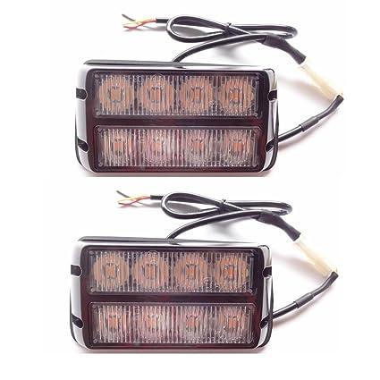 Amazon com: New high brightness 8 LED Trailer Lights Side Marker