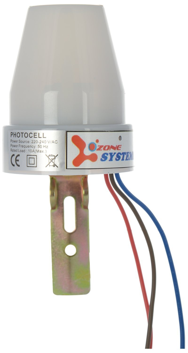 Original Ozone Systems Day Night Light Ldr Sensor Dusk Dawn Auto On Photocell Further Fluorescent Fixtures Wiring Diagram Off Switch Oz 25 Home Improvement
