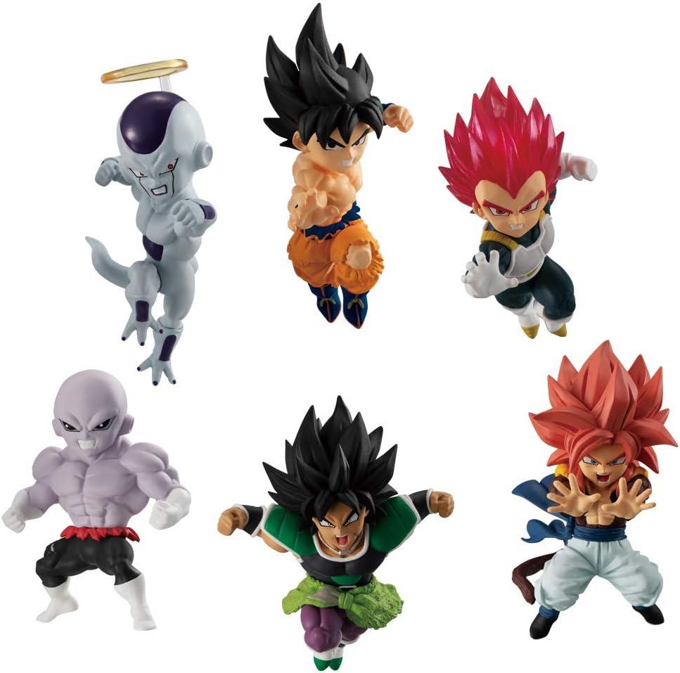 Bandai Dragon Ball Adverge MOTION 3 Mini Figure Toy Vegeta Super Saiyan God Red