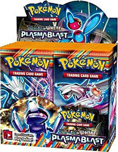 Pokémon Trading Card Game: Black & White —Plasma Blast Booster Display (36 Packs) (Pokemon White Best Pokemon)