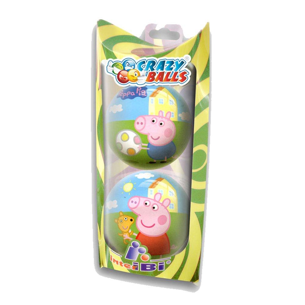 Factory - Peppa Pig Pack de 2 Pelotas, 60 mm (595536): Amazon.es ...