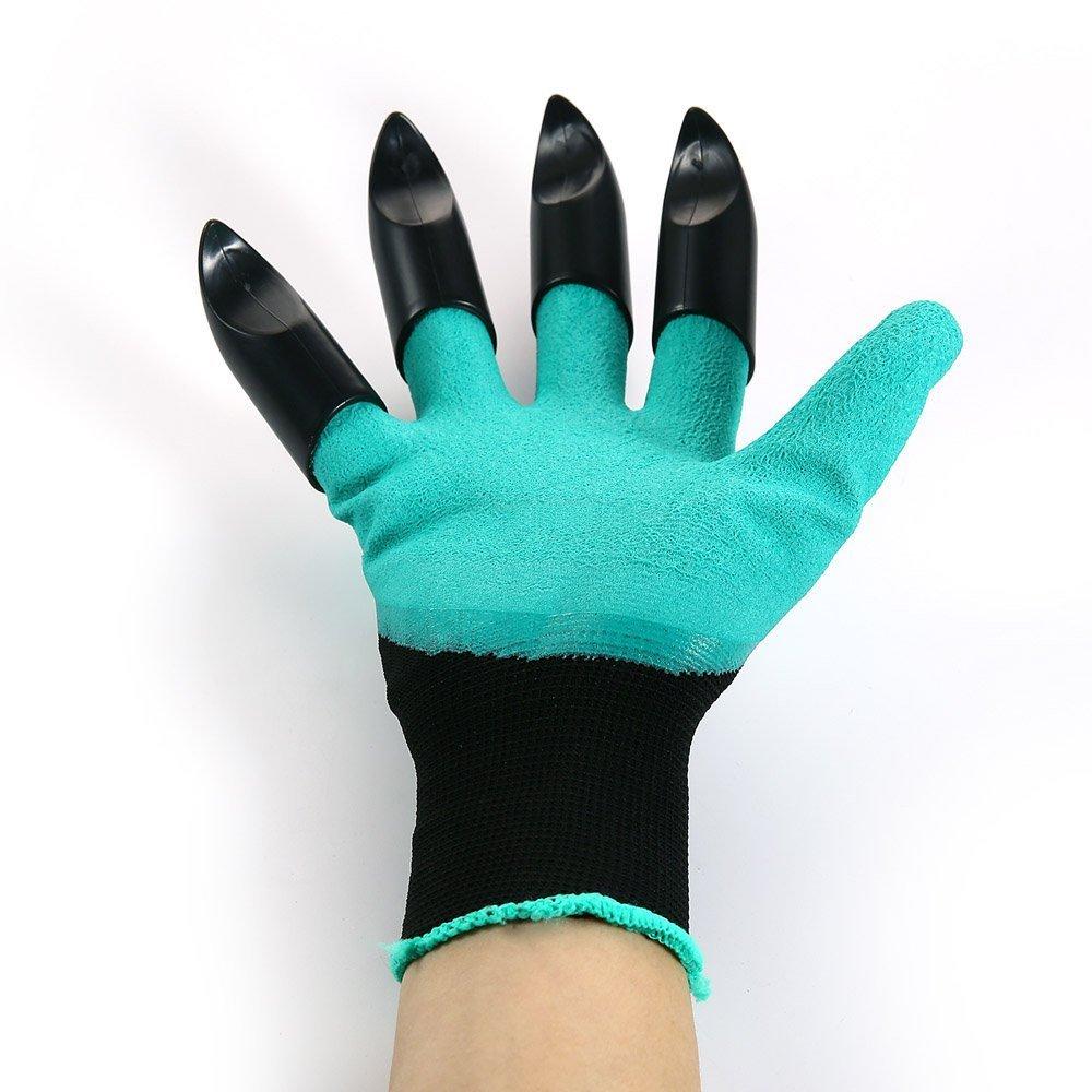 Meanch Garden Genie Gloves and Gardening Gloves Fingertips Uniex Right Claws