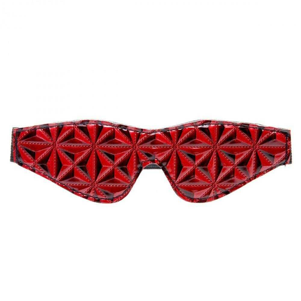 Red Full Blackout Blindfold Adult S&Éx T'Ôy by LAHapSal Inc