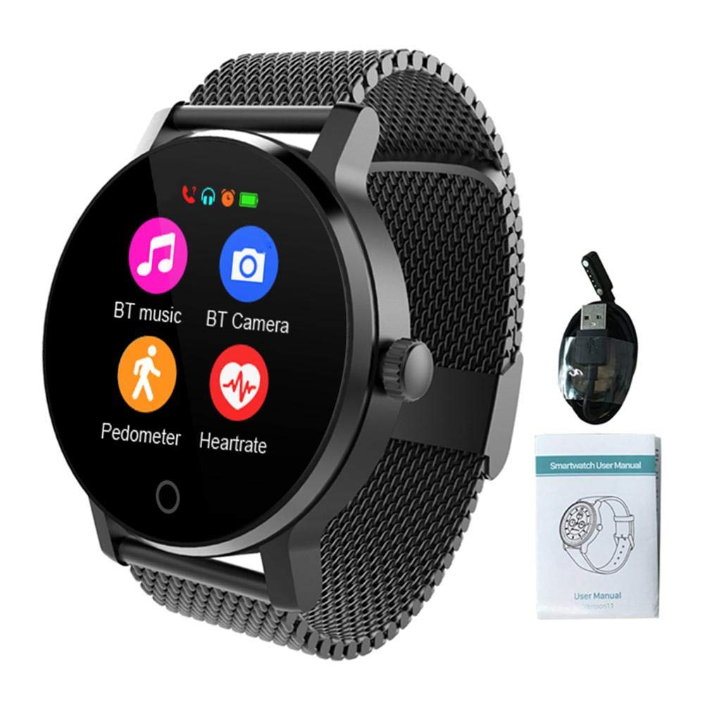 Smart Watch, Fitness Tracker Smart Watch Round Screen