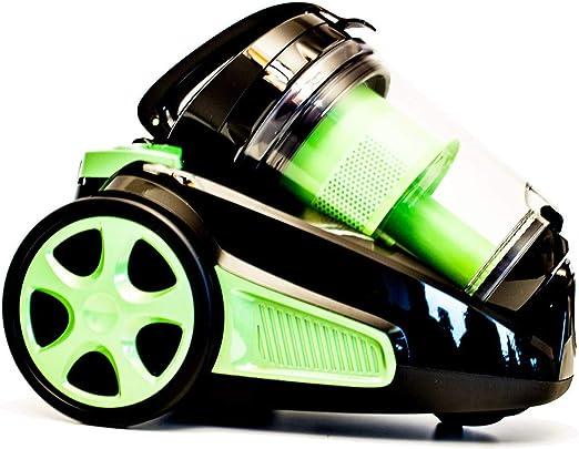 Elta 3001311 Aspiradora, policarbonato, negro-verde: Amazon.es: Hogar