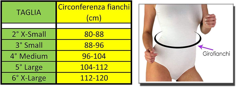 Xlip Body Canotta Donna Ragazza in Cotone Elasticizzato Spallina Stretta per Danza Balletto Sports Ginnastica Casual