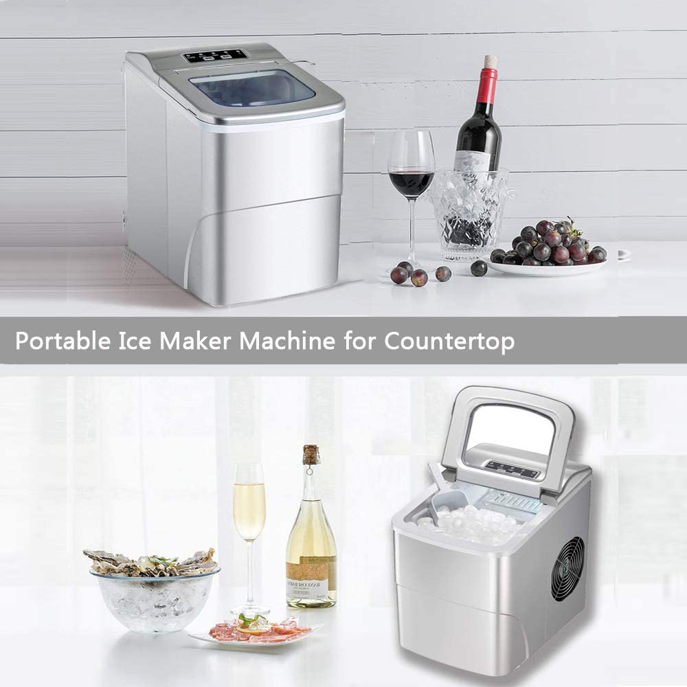 portable ice making machine