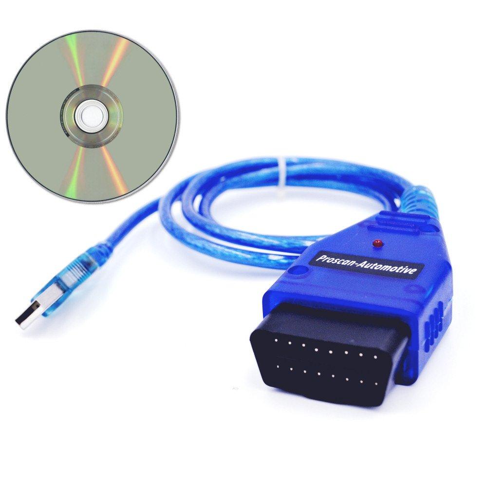 Proscan Automotive diagnostica OBD USB Kkl piombo vcd-lite