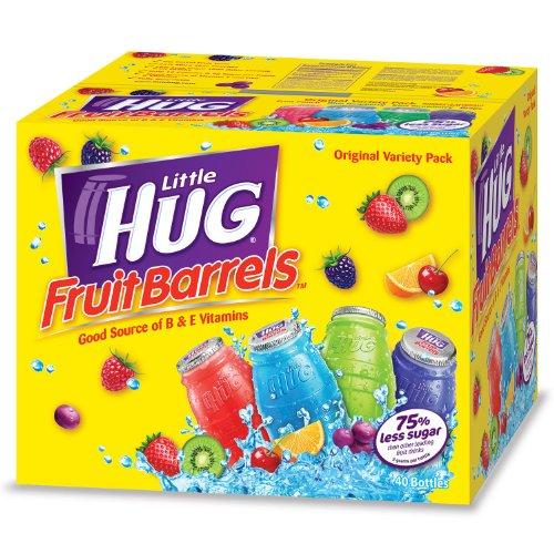 (Little Hugs Assorted Fruit Drinks, Box of 40/8 Oz)