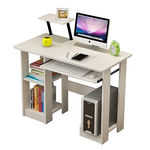 soges Mesa de Ordenador PC Oficina Despacho Escritorio Madera 90 x ...