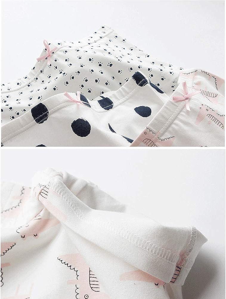 Happy Cherry Baby Unterhosen M/ädchen Boxershorts Slips Pantys Elastische Baumwolle Komfort Schl/üpfer Unterw/äsche Eine Packung von 6 St/ücke