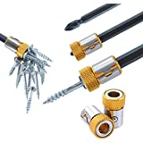 """5pcs Bit Magnetizer Ring Removable For 1/4""""(6.35mm) hex screwdriver and powrer bits"""