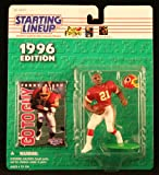 : TERRY ALLEN / WASHINGTON REDSKINS 1996 NFL Starting Lineup Action Figure & Exclusive NFL Collector Trading Card