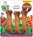 Nylabone Healthy Edibles Dog Chew Treat Bones for Small Dogs up to 25 Pounds from Nylabone