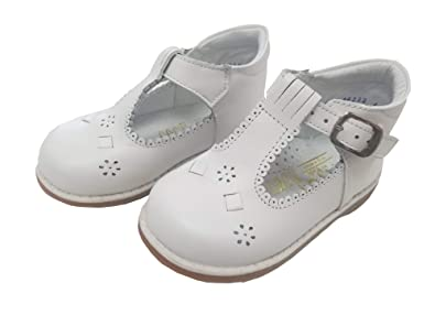 factory authentic on wholesale premium selection Angels Garment White T Strap Easter Baby Toddler Girl Shoe 3-10.5