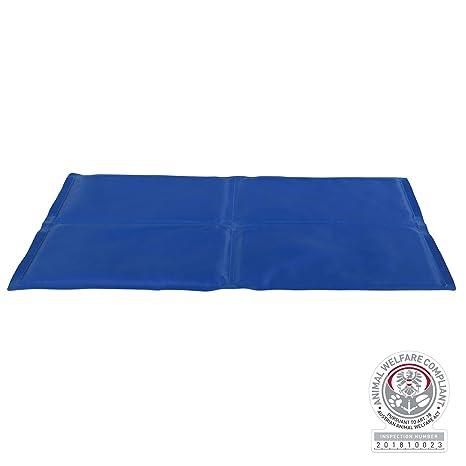 Trixie 28686 Alfombrilla Refrescante, 90 x 50 cm, Azul