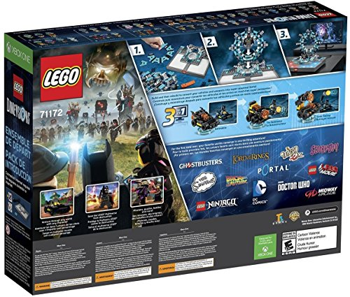 Lego Dimensions Starter Pack + Adventure Time Finn The Human Level Pack + Jake The Dog Team Pack + Marceline The Vampire Queen Fun Pack for Xbox One or Xbox One S Console by WB Lego (Image #5)