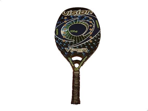 Raqueta Tenis Playa Vision Viper 2018: Amazon.es: Deportes y aire ...