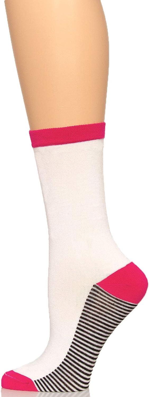 Crew Socks 3-Pack Soft One Size Fits All Comfort Felina