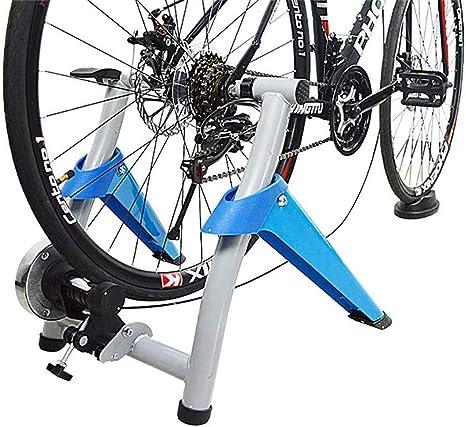 LXDDP Entrenador Bicicletas Máquina Entrenador Bicicleta Carretera con Rueda reducción Ruido Resistencia 7 Niveles Ejercicio magnético portátil Ciclismo Montaña Soporte Bicicleta estacionaria: Amazon.es: Deportes y aire libre