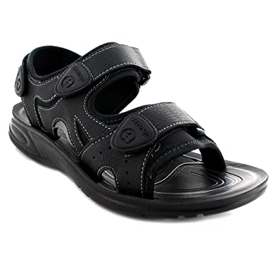 5fe9aabbf81414 Aerosoft P1701BlackUS Men 6 Caviale Men Original Sandals, Black - Size 6