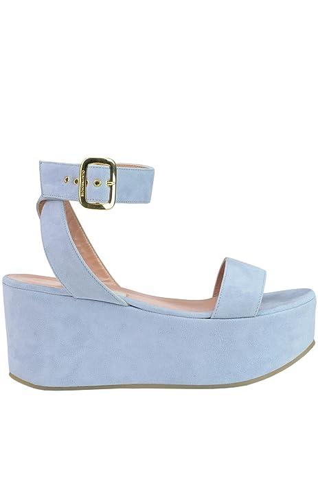 Para Vestir Zapatos Chose Piel De L'autre Azul Otra Mujer q7vwxY