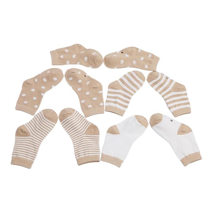 VWH Baby Pure Cotton Socken Jungen Baumwolle Mädchen Söckchen mit ...