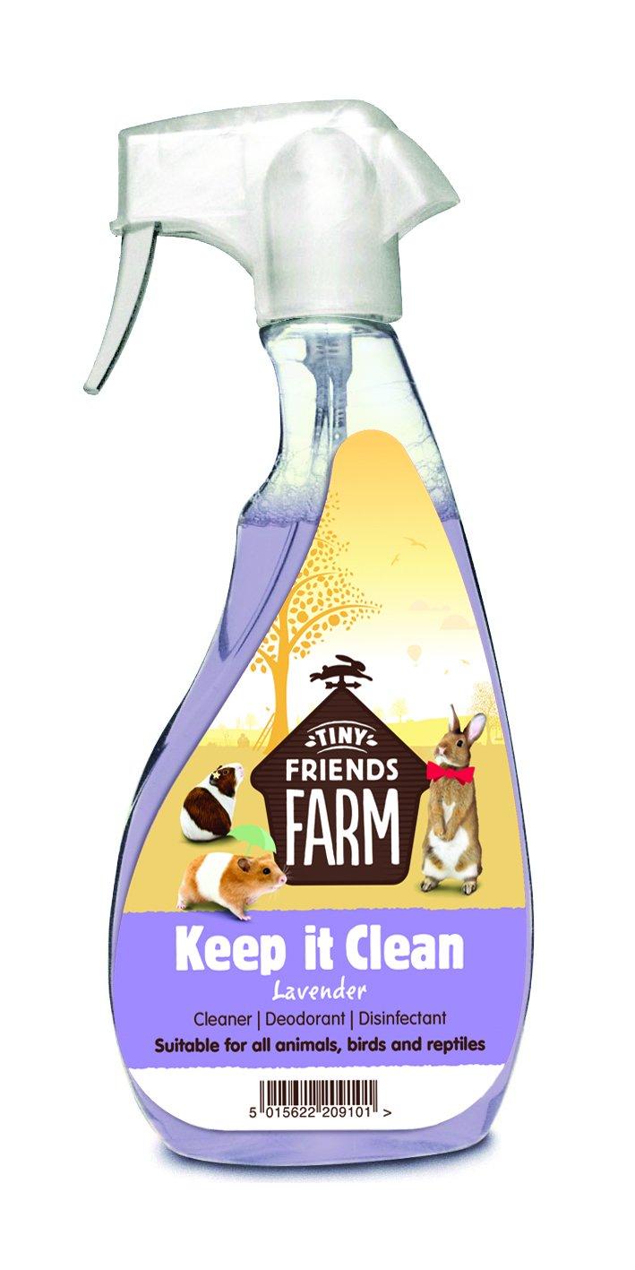 Supreme PetFoods Keep It Clean Lavande Spray désinfectant 500ml 7271