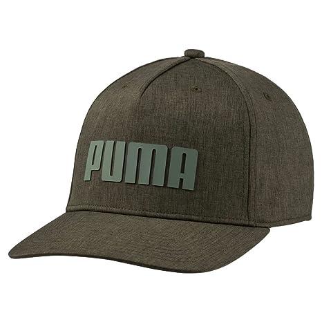 75a4010eae3 Image Unavailable. Image not available for. Color  Puma Golf 2018 Men s Go  Time Flex Snapback Hat ...
