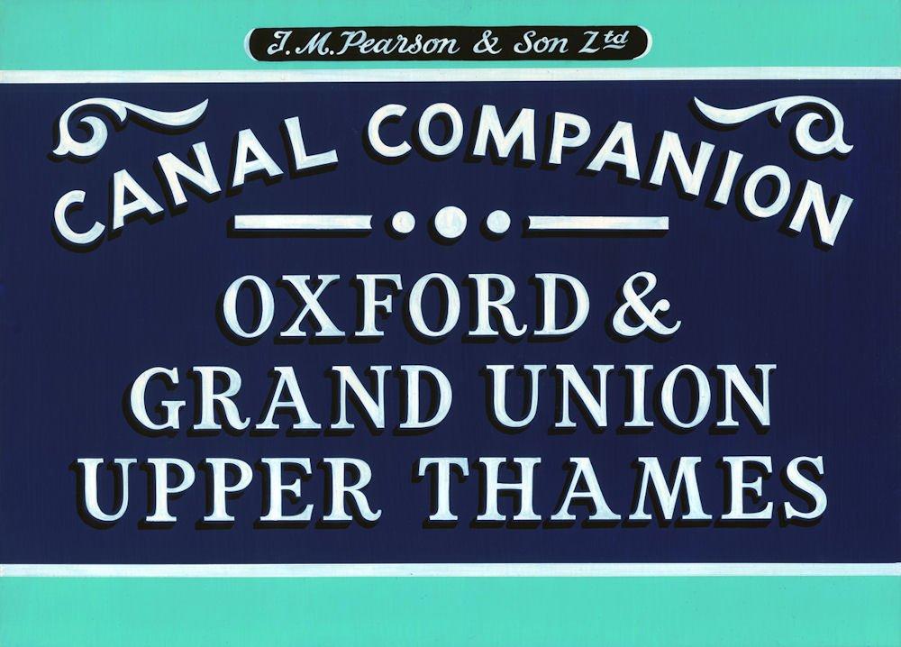 Pearson's Canal Companion: Oxford, Grand Union & Upper Thames