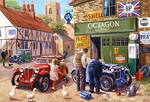 Gibsons Octagon Garage Jigsaw Puzzle  500 Pieces