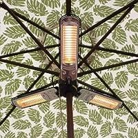 AZ Patio Heaters AZ Patio Heater Electric Umbrella Heater from AZ Patio Heaters LLC