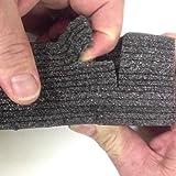 Kaizen Foam 2 Feet x 4 Feet, 20mm Thick Color Black