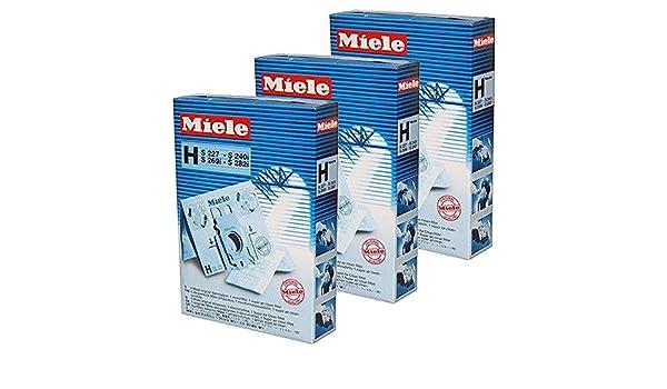 Miele mtxtec S271I S272I S273I H HyClean tipo de bolsas para aspiradora y Kit de filtro (15 unidades): Amazon.es: Hogar