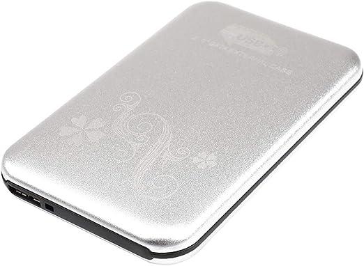 Shiwaki 外付けハードドライブ HDDエンクロージャ ハードディスクドライブ 全5選択 - 80G